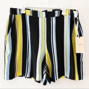(NWT) Halogen | Lucinda Striped Soft Shorts